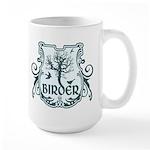 Gothic Birder Shield Large Mug