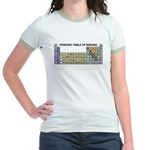 Periodic Table of Birding Jr. Ringer T-Shirt