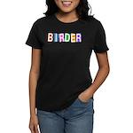 Retro-style Birder Women's Dark T-Shirt
