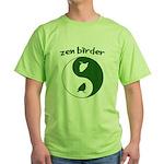Zen Birder Green T-Shirt