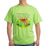Birding With You Green T-Shirt