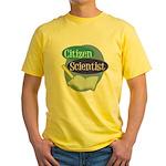 Citizen Scientist Yellow T-Shirt