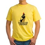I Want to Believe Yellow T-Shirt