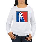 Major League Birder Women's Long Sleeve T-Shirt