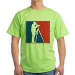 Major League Birder Green T-Shirt