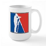 Major League Birder Large Mug