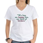 Band of Birders Women's V-Neck T-Shirt