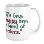 Band of Birders Large Mug