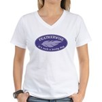 Featherwise Women's V-Neck T-Shirt