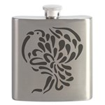 Stylized Turkey Flask