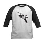 Bufflehead Sketch Kids Baseball Jersey