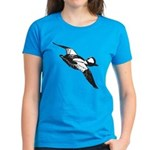 Bufflehead Sketch Women's Dark T-Shirt
