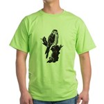American Kestrel Sketch Green T-Shirt