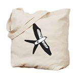 Scissor-tailed Kite Cartoon Tote Bag