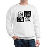 Barred Owl Pop Art Sweatshirt