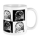 Barred Owl Pop Art Mug