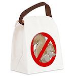 Anti-Squirrel Canvas Lunch Bag