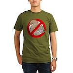 Anti-Squirrel Organic Men's T-Shirt (dark)