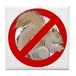 Anti-Squirrel Tile Coaster
