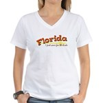 Florida Women's V-Neck T-Shirt
