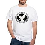 Snowy Owl Irruption White T-Shirt
