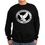 Snowy Owl Irruption Sweatshirt (dark)