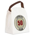 Lifelist Club - 50 Canvas Lunch Bag