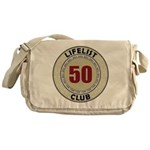 Lifelist Club - 50 Messenger Bag