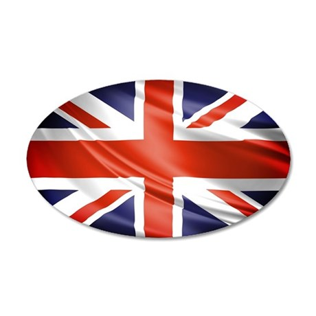 Artistic Union Jack Wall Decal