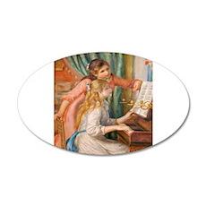 Renoir: Girls at a Piano Wall Decal