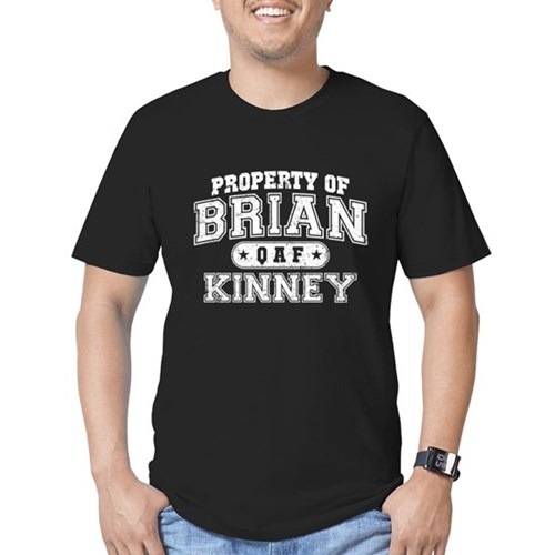 Property of Brian Kinney Men's Dark Fitted T-Shirt