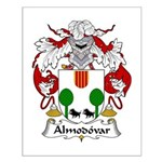 Almodovar Family Crest Small Poster