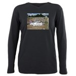 HoltUnknownAndFence.jpg Plus Size Long Sleeve Tee