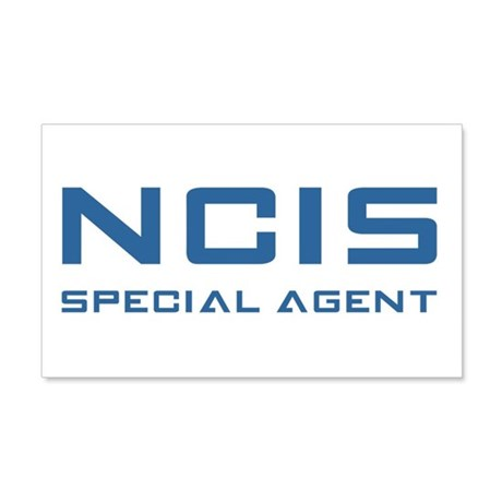 NCIS SPECIAL AGENT Wall Decal