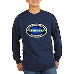 Birder: Out-Twitch... Long Sleeve Dark T-Shirt