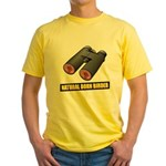 Natural Born Birder Yellow T-Shirt