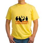 Birdspotting Yellow T-Shirt