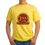 Lifelist Club - 3000 Yellow T-Shirt