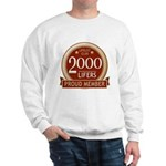 Lifelist Club - 2000 Sweatshirt
