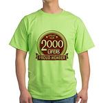 Lifelist Club - 2000 Green T-Shirt