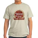 Lifelist Club - 2000 Light T-Shirt