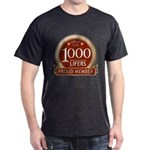 Lifelist Club - 1000 Dark T-Shirt