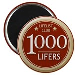 Lifelist Club - 1000 Magnet