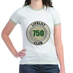 Lifelist Club - 750 Jr. Ringer T-Shirt