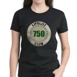 Lifelist Club - 750 Women's Dark T-Shirt