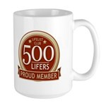 Lifelist Club - 500 Large Mug