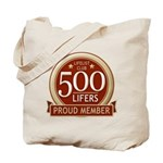 Lifelist Club - 500 Tote Bag