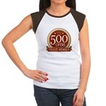 Lifelist Club - 500 Women's Cap Sleeve T-Shirt