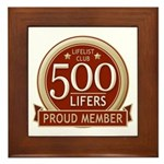 Lifelist Club - 500 Framed Tile