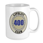 Lifelist Club - 400 Large Mug